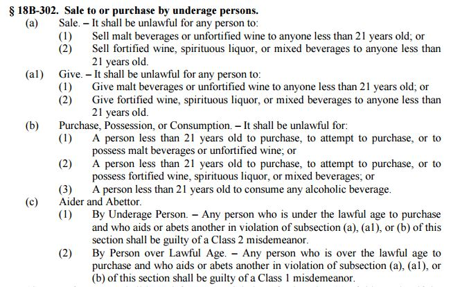 How To Deal With Underage Alcohol Possession Charges