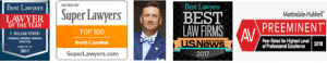 Bill Powers Charlotte Criminal Defense Lawyer - Awards & Certifications