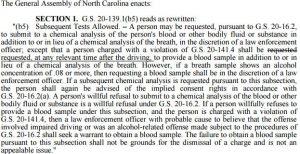 Blood Sampling Death by Vehicle Amendment 2015