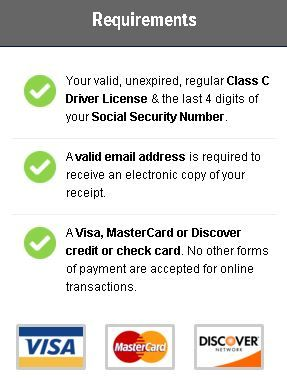 can drivers license be renewed online