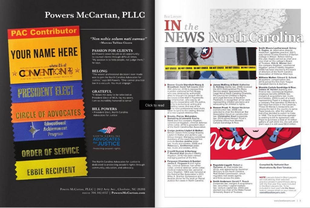 Powers Law Firm PA Included in Best Law Firms List (2)