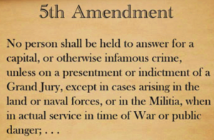 5th Amendment Right to Remain Silent - Carolina Criminal Defense Lawyers in Charlotte NC
