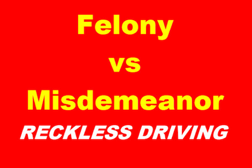 Felony vs Misdemeanor